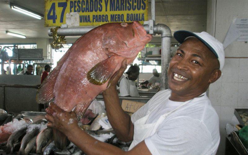 Mercado mariscos