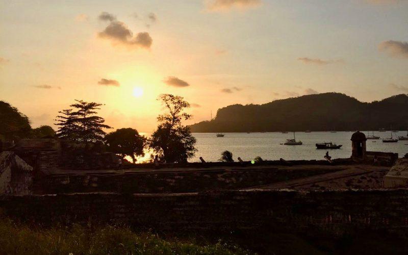 Puesta de sol Portobelo